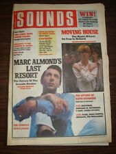 SOUNDS 1988 OCT 8 MARC ALMOND HOUSE OF LOVE PIXIES VAMP