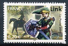 STAMP / TIMBRE FRANCE NEUF N° 3842 ** HEROS DES JEUX VIDEO / LINK