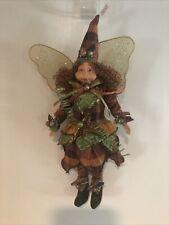 Fairy Ornament, 11�, Lime / Orange, Er1611/V