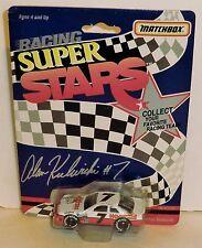 Alan Kulwicki #7 Hooter's 1992 1/64 'Rare' Matchbox Superstars (Blank Trunk 1st