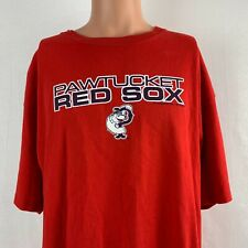 CSA Pawtucket Red Sox T Shirt 2008 Paw Sox MILB Minor League Baseball Boston XL