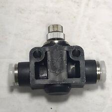 Pisco Jsu14 Pneumatic Speed Controller Lot Of 2 New