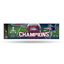 """New England Patriots Official NFL 11 x 3"""" Super Bowl Champions Bumper Sticker"""