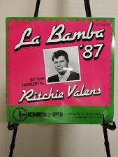 Ritchie Valens La Bamba '87 By the Immortal Del Fi Records, 1987 Sealed New LP