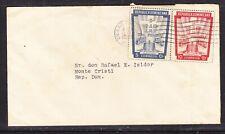 Dominican Republic 1955  Letter Cuidad to Monte Cristi - Toned