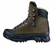 New Hanwag Mountain Shoes: Yukon Wide Men Leather Size 8,5 (42,5) Earth