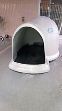 Indigo Igloo Med Doghouse, 2 x Precision Pens and traveling collapsible kennel