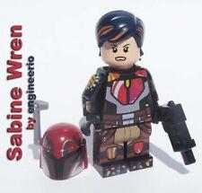LEGO custom Sabine Wren Star Wars Rebels 75090 75106 75150 jango fett boba 75158
