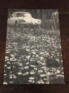 Citroen Andre Postcard B&W From Holland Auto Vtg Rare Unused