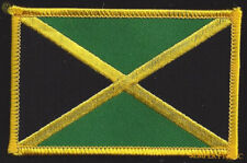 Jamacia Country Hat Vest Flag Patch Souvenir Trip Gift Pin Up Jamaican