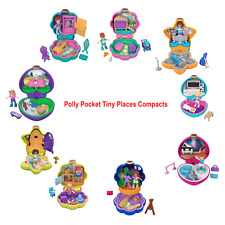 Polly Pocket Tiny Pocket Places Compact with Doll and Accessories You Choose