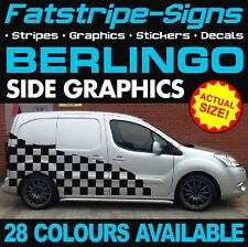 CITROEN BERLINGO GRAPHICS STICKERS STRIPES DECALS L1 L2 CREW CAB DAY VAN CAMPER