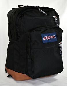 New JanSport Cool Student Laptop Backpack -- Black
