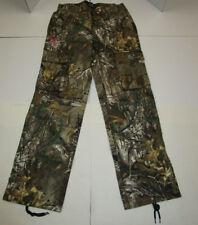 Nwt Womens Realtree Brown Camo Cargo Hunting Pants Medium 32 32