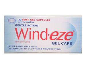 Wind-eze Gel Caps 20 Soft Gel Capsules Same day dispatch
