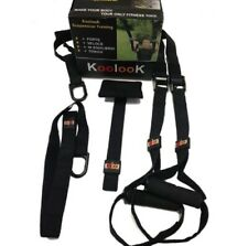 SUSPENSION TRAINER BLACK KIT COMPLETO CON DOOR ANCHOR BY KOOLOOK IL TOP !!!