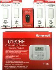Honeywell 6162RF Keypad + 4 5816 W TRANSMITTER +1 5834-4 wireless remote control