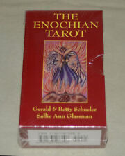 """**NEW & SEALED** The Enochian Tarot Cards Deck & Book Box Set """"Red Box"""""""