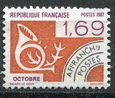 FRANCE TIMBRE   PREOBLITERE  N° 195  OBL    OCTOBRE