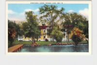 PPC POSTCARD INDIANA WINONA LAKE KOSCIUSKO LODGE