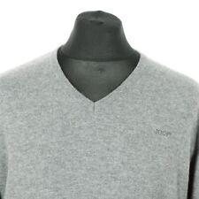 Pullover Tg 32 34 Nero Zipper Maglione finemente lavorato a maglia manica lunga viscosa nuovo