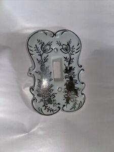 Original Arnart Creation Hand Painted Ceramic Light Switch Cover