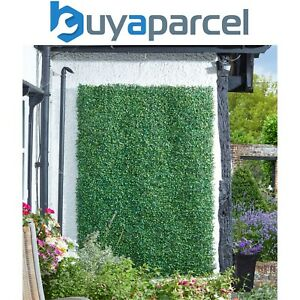 Smart Garden 60 x 40cm Boxwood Leaf Screening Panel Wall Cover Faux Trellis Mat