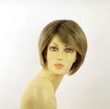 short wig for women brown wick golden ref FRANE 6t24b PERUK