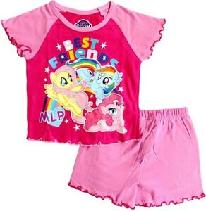 My Little Pony Short Summer Pyjamas. Age 18-24 Months and 2-3 Years. Brand New