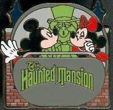 Disney Pin: WDW Walt Disney World Attractions Mystery The Haunted Mansion