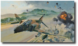 Phantom Fury by Robert Taylor - F-4D - Signed by Ace Steve Ritchie - Vietnam War