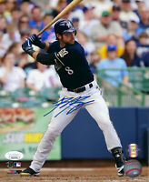 BREWERS Ryan Braun signed 8x10 photo JSA COA Autographed AUTO MVP Milwaukee