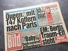 BILD Zeitung 10.6.1992 Bildzeitung 10.06.1992 Juni Geschenk Geburtstag