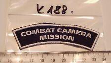 Dänemark UN - FN Armabzeichen Combat Camera Mission 1 Stück  (k188-)