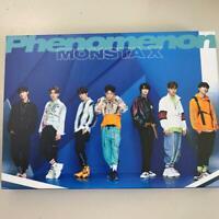 Monsta X 2nd album Phenomenon first press B ver. CD + DVD No photocard sirial