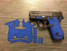 Handleitgrips Blue Sandpaper Grip Tape Enhancement for Smith & Wesson Shield 40