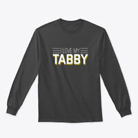 I Love Tabby Cool Kitten Cat Gildan Long Sleeve Tee T-Shirt