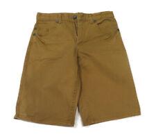 Target Boys Camel Brown Wash Denim Shorts Adjustable Waist Size 10