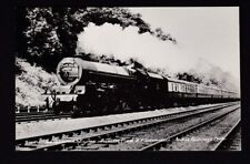 Railway BR The Samrock Prinsess class #46204 Princess Louise c1950/60s RP PPC