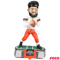 Baker Mayfield Cleveland Browns Stadium Lights White Jersey Bobblehead NFL