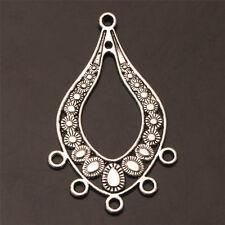 Tibetan Silver Findings Earring Jewelry Finding art Connectors Fit Earrings