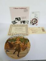 "1987""I Have Confidence""Plate,Sixth Isssue In"" The Sound Of Music""Series NIB COA!"
