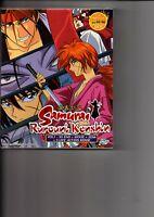 Samurai Rurouni Kenshin Vol.1-95 End + Movie + 2OVA + 3Live Action Anime DVD