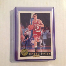 BRENT PRICE #75 OKLAHOMA Wizards RC 1992/93 GOLD DRAFT PICKS Classic 1 of 8,500