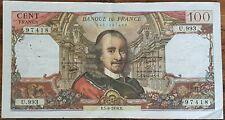 Billet de 100 francs CORNEILLE 5 - 8 - 1976 FRANCE  U.993