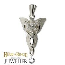 Herr der Ringe/Hobbit Anhänger Arwens Abendstern 925 Silber Original/klein A1000
