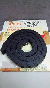 "IGUS 42"" FLEXIBLE WIREWAY NO ENDS 06.16.028 NEW 0616028"