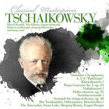 CD Tchaïkovski Classical Masterpieces avec Herbert de Karajan 8CDS