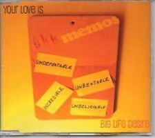 (AK200) Your Love Is, Big Life Desire - 2006 CD