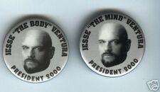 2 Jesse VENTURA President 2000 pins WRESTLING wrestler